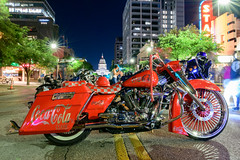ROT - Coke Classic on Congress (-Dons) Tags: usa austin texas unitedstates tx motorcycle street rot classic night downtown coke cocacola congressavenue texasstatecapitol cocacolaclassic rotrally republicoftexasbikerrally republicoftexasrally