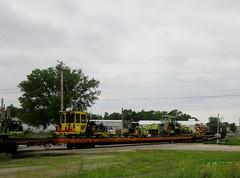 Q329 (PPWIII) Tags: grandrapids csx pleasant st tower demo grand elk amtrak trains railroad century mow