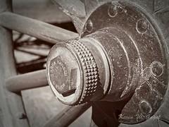 Wells BC 16 (Kevin Gagel) Tags: pgps barkerville httpwwwbarkervilleca wagon hansen wheel hansenwheelwagon
