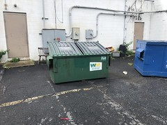WM 2yd (IWS-15) Tags: recycling recycle garbage trash refuse dumpster wastemanagement wm