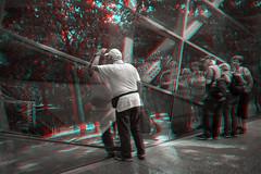 New York, New York (DDDavid Hazan) Tags: newyork newyorkcity nyc ny manhattan worldtradecenter wtc memorial museum architecture building glass reflection people man city urban sun shadows