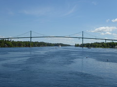 Bridge (WabbitWanderer) Tags: us interstate 81 bridge over st lawrence river thousand islands