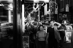The Manhattan Project 1 (Paul B0udreau) Tags: newyorkcity nyc usa photoshop canada ontario paulboudreauphotography niagara d5100 nikon nikond5100 raw layer nikkor50mm18 people contrast sunlight lateday harshlight street bw monotone barrymore