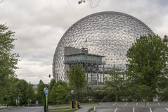 Biosphere Environmental Museum (vmokry) Tags: cc0 publicdomain sphere icosahedron triangle