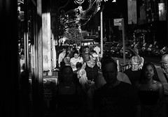 The Manhattan Project 2 (Paul B0udreau) Tags: newyorkcity nyc usa photoshop canada ontario paulboudreauphotography niagara d5100 nikon nikond5100 raw layer nikkor50mm18 people contrast sunlight lateday harshlight street bw monotone barrymore