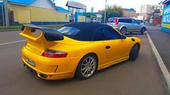 Porsche 911[996] Cabriolet by Gemballa (ZabooVL) Tags: russia siberia krasnoyarsk porsche 911 996 carrera cabriolet gemballa yellow
