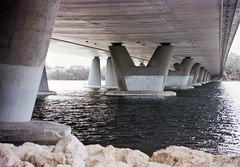 EKTAR 100 110619-023 (brett.m.johnson) Tags: ektar100mthenryfremantlesouthmolejune2019c41 fremantle mthenry bridge canningriver westernaustralia perth exktar 100 c41 processingtank