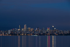 Vancouver Nights (MaxTheSpy) Tags: long exposure vancouver canada