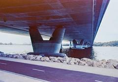 EKTAR 100 110619-012 (brett.m.johnson) Tags: ektar100mthenryfremantlesouthmolejune2019c41 fremantle mthenry bridge canningriver westernaustralia perth exktar 100 c41 processingtank