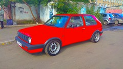 Volkswagen Golf (ZabooVL) Tags: russia siberia krasnoyarsk vw volkswagen golf