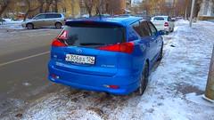 Toyota Caldina ZT 4WD (ZabooVL) Tags: russia siberia krasnoyarsk toyota caldina 4wd 4x4 wagon jdm blue trd