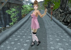 Walking Around Tokyo (aerlinniel.roughneck) Tags: escalated 25ltuesday labellaboutique akeruka witchcraft papersparrow mooh curves senseevent chopzuey zombiesuicide accessevent indigo