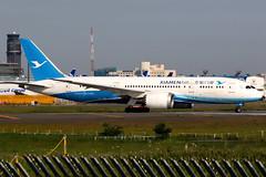 Xiamen Airlines | Boeing 787-8 | B-2769 | Tokyo Narita (Dennis HKG) Tags: aircraft airplane airport plane planespotting skyteam canon 7d 70200 tokyo narita rjaa nrt xiamen xiamenairlines mf cxa boeing 787 7878 boeing787 boeing7878 dreamliner b2769