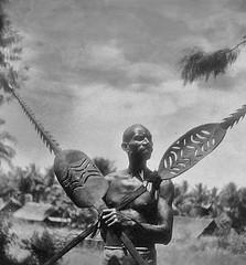 20217 Serie BV-2944 Twee Jaqai speren van het  type genaamd Koqom (Stichting Papua Erfgoed) Tags: jaqai jaqay speer boelaars stichtingpapuaerfgoed msc pace papuaheritagefoundation zuidnederlandsnieuwguinea erfgoedcentrumsintagatha papua janboelaars missionariisacratissimicordisjesu heritage foundationpacezuid papuazuid nederlands nieuwguinea