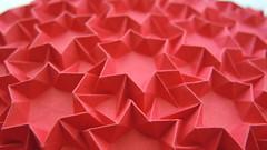 Fireworks 2.0 (Arseni Ko) Tags: origami paper design tesselation corrugation pattern geometry symmetry