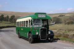 FFW830 Vintage Omnibus Services (theroumynante) Tags: ffw830 vintage omnibus services 749 lincolnshire road car company lrcc north yorkshire bus buses transport halfcab singledeck bristol l5g eastern coachworks ecw