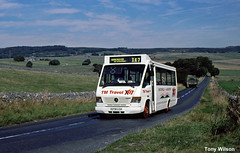 S276LGA TM Travel (theroumynante) Tags: s276lga tm travel mercedesbenz 0814d mellor bus midibus buses road transport singledeck ringwood coaches peak district derbyshire x67 vario