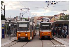 Tram Budapest - 2019-25 (olherfoto) Tags: tram tramcar tramway strasenbahn villamos budapest ungarn hungary bkv tatra tratratram t5c5