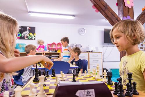 IX Turniej Szachowy o Mistrzostwo Przedszkola Europejska Akademia Dziecka-43