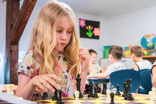 IX Turniej Szachowy o Mistrzostwo Przedszkola Europejska Akademia Dziecka-42