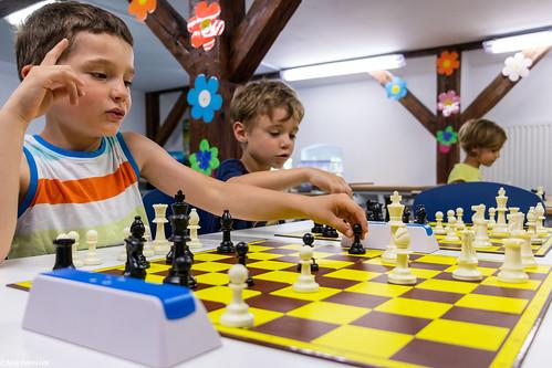 IX Turniej Szachowy o Mistrzostwo Przedszkola Europejska Akademia Dziecka-37