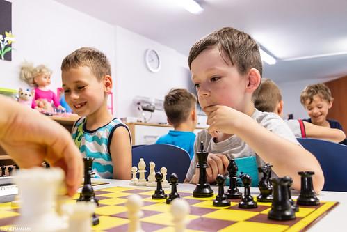 IX Turniej Szachowy o Mistrzostwo Przedszkola Europejska Akademia Dziecka-35
