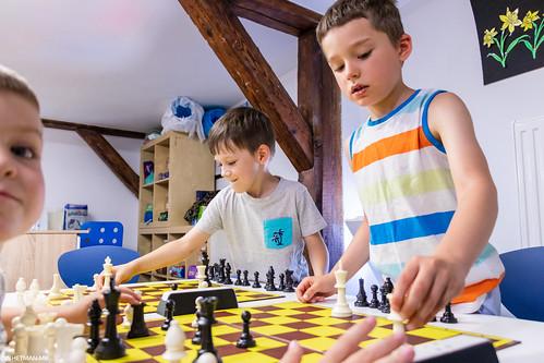 IX Turniej Szachowy o Mistrzostwo Przedszkola Europejska Akademia Dziecka-22