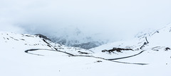 Grossglockner Road in early May (Alex&HisNikon) Tags: road snow alps austria cloudy d750 nikond750 grossglockner panorama