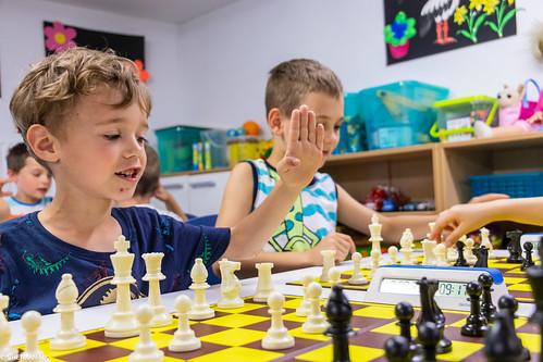 IX Turniej Szachowy o Mistrzostwo Przedszkola Europejska Akademia Dziecka-6