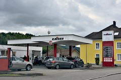 Kaiser, Wehr Germany. (EYBusman) Tags: kaiser petrol gas gasoline filling service station garage wehr germany eybusman sud baden black forest