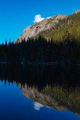 Buckhorn Lake (gmolteni) Tags: lake alpine mountain mountains reflection pnw washington olympics national park trail hiking camping