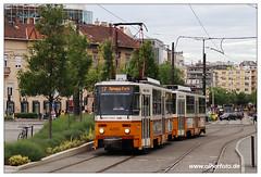 Tram Budapest - 2019-26 (olherfoto) Tags: tram tramcar ramway strasenbahn villamos budapest hungary ungarn bkv tatra t5c5 tatratram