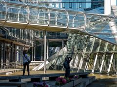 The photographers (Zoom58.9) Tags: building glasses people photographer architecture europe germany niedersachsen hannover gebäude glas menschen architektur europa deutschland sony