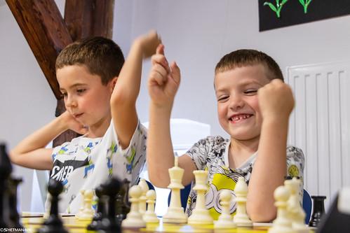 IX Turniej Szachowy o Mistrzostwo Przedszkola Europejska Akademia Dziecka-41