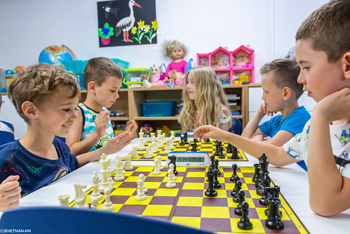 IX Turniej Szachowy o Mistrzostwo Przedszkola Europejska Akademia Dziecka-5