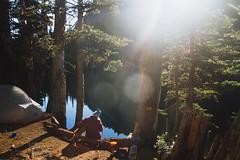 Buckhorn Lake (gmolteni) Tags: lake alpine mountain mountains pnw washington olympics national park hiking