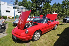 Alfa Romeo Display (3) (Gearhead Photos) Tags: italian cars alfa romeo lamborghini ferrari fiat lancia renault citroen urus pantera fulvia countach gallardo huracan aventador spyder aston martin db5 bugatti