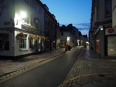 untitled (chrisinplymouth) Tags: street corner barbican plymouth devon england uk diagx diagonal xg dawn desx city morning