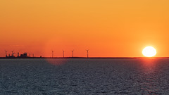 Sunset (Cajofavi) Tags: sunset mönsteråsbruk äleklinta öland sea windturbines