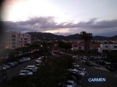 FELIZ MARTES DE NUBES AMIG@S. (CarmenCordero1949) Tags: cielo nubes pinedademar coches carmen ärboles