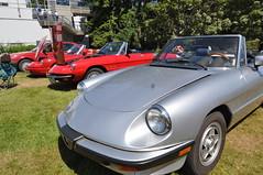 Alfa Romeo Display (7) (Gearhead Photos) Tags: italian cars alfa romeo lamborghini ferrari fiat lancia renault citroen urus pantera fulvia countach gallardo huracan aventador spyder aston martin db5 bugatti