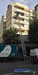 Mudanza con Plataforma realizada ayer en Valencia (Mudanzas Moragon) Tags: mudanzasmoragon valencia servicio trabajo traslado plataforma grua 2019 junio martes