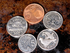 Five Cents (Vicki LW) Tags: five cent money number crazytuesday