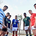 World Rugby U20 Championship joined the World Environment Day celebrations ias they planted trees in Argentina by
