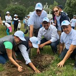 Ecuador - tree planting by