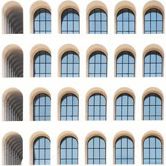 There's a brand new dance (Arni J.M.) Tags: architecture building theresabrandnewdance curves glass fendihq giovanniguerrini ernestobrunolapadula marioromano colosseoquadrato palazzodellaciviltàitaliana rome italy