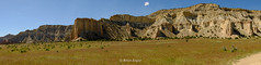 Kodachrome Cliffs, Calves and Cowboys (Brian Eagar Nature Photography) Tags: scenery landscape fuji xt2 816mm utah kodachromebasinstatepark utahlandscape utahscenery sandstone rock formation cowboy calf kodachrome sky cloud grass cliff