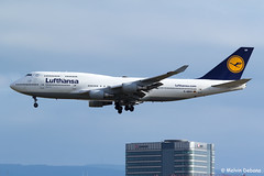 Lufthansa Boeing 747-430  |  D-ABVP  |  Frankfurt Rhein-Main  - EDDF (Melvin Debono) Tags: lufthansa boeing 747430 | dabvp frankfurt rheinmain eddf cn 28284 melvin debono spotting spotters spotter canon plane planes photography airport airplane aircraft aviation fra deutschland germany