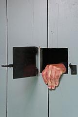 Prison (Arnadel) Tags: guingamp bretagne prison jail slammer main hand