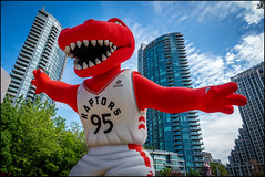 Raptor City (Rodrick Dale) Tags: raptor city toronto ontario canada nba